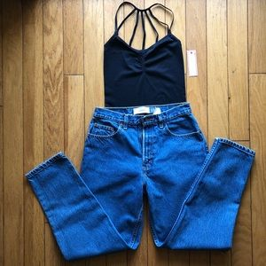 Women's Vintage High Waisted Classic Gap Jeans